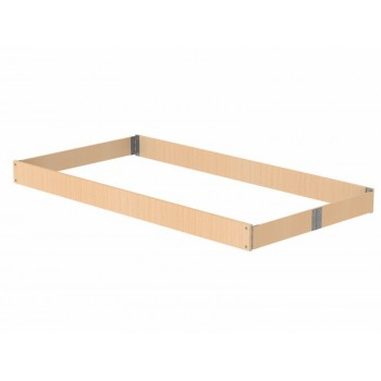 Altrex Set of wooden baseboards 75-185 RS4 Scaffolding elements