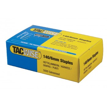 TACWISE Flat wire staples 140-6 mm per 5 000 pcs Home