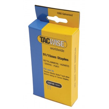 TACWISE Flat wire staples 140-6 mm per 2000 pcs Home