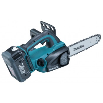 Makita BUC250RDE - Pruner 25cm on battery 36V + 2x BL3626 + DC36RA Cordless chainsaws