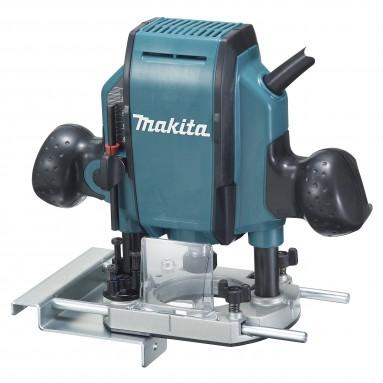 Makita RP0900J - Défonceuse 8mm 900W + MAKPAC.Défonceuses et affleureuses