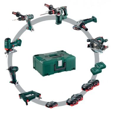 Metabo ComboSet18v 6 Machines COMBOPACKS
