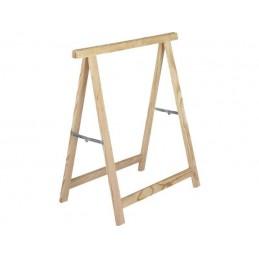 ASTIGARRAGA Wooden trestle Hobby 73.5 cm(h) x 73.5 cm(W) - (Max. 400 kg per set) Sawhorse