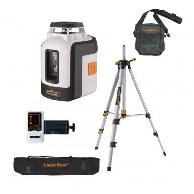 SmartLine Laser 360° Bonus Automatic 360° Line Laser Set with tripod, receiver\n Lasers