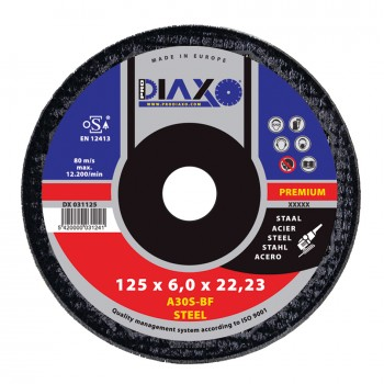 PRODIAXO Burring disc STEEL Ø 230 x 6.0 mm A30S-BF - Premium Construction Home