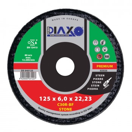 PRODIAXO Burring disc STEEN Ø 125 x 6.0 mm C30R-BF - Premium Construction Home