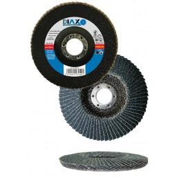 PRODIAXO Conical blade disc Ø 125 mm ZK40 ZIRCONIA - Premium Construction A CATEGORISER