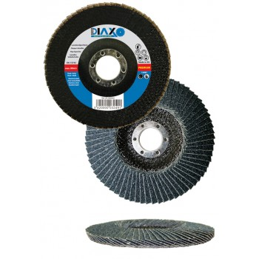 PRODIAXO Conical blade disc Ø 125 mm ZK80 ZIRCONIA - Premium Construction A CATEGORISER