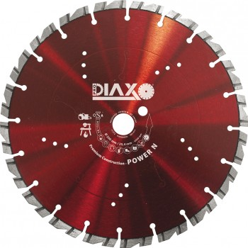 PRODIAXO Diamond Disc POWER N - 300 x 25.4 mm - Premium Construction Diamond dry-cutting saws