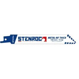 STENROC Reciprocating saw blade Metal-Inox-NF 2-8mm (5pcs) - MT630BI, 150x19x0.9mm x 14tpi (EX LX20564-614R) Home