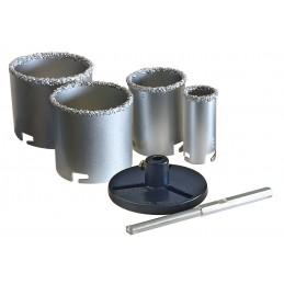 SOLID Tungsten carbide hole set - 6-piece Home