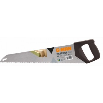 G-MAN RESPECT hand saw pvc handle, 7 TPI (R7) - 500 mm (EX IR 10505307) Specific Saws