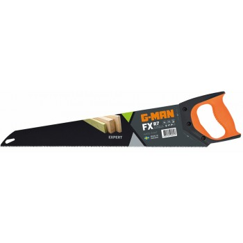 G-MAN FX LINE - 319 EXPERT FX hand saw R7 tpi, PTFE coating - 550 mm (EX IR 10505546) Specific Saws