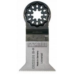 STENROC Saw blade STARLOCK OSZ221, Coarse tooth. 50 x 50 mm x 100 pcs. - BiM Uni Home