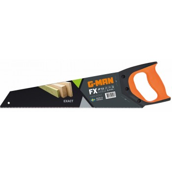 G-MAN FX LINE -352H EXACT FX hand saw fine perforation JP11 tpi, PTFE coating - 450 mm Specific Saws