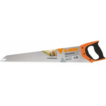 G-MAN CLASSIC LINE hand saw (regrindable), Coarse 3.5 TPI - 500 mm (EX IR 10503530) Specific Saws