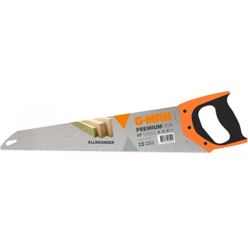 G-MAN CLASSIC LINE R7 hand saw, straight cut 7 TPI - 550 mm (EX IR 10503626) Specific Saws