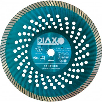 PRODIAXO PANTHER diamond wheel - 300 x 25.4 mm - Premium Granite - Construction Diamond tools and accessories