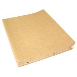 PRODIAXO Sanding pad P120 - 230 x 280 mm - yellow Home