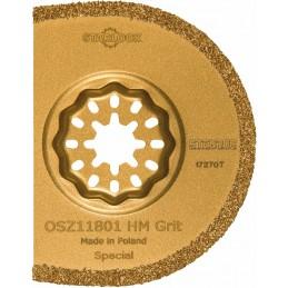 STENROC Semicircular saw blade STARLOCK OSZ118,HM Grit, diam. 75 mm , per 1 piece. Sanding pads