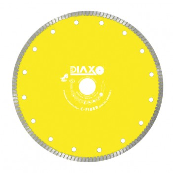 PRODIAXO Diamond disc C-FIBER-TURBO - 125 x 22.2 mm - Premium Construction Diamond dry-cutting saws