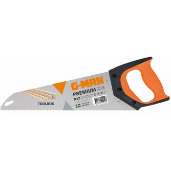G-MAN PREMIUM 275H TOOLBOX hand saw, R13 TPI - 350 mm Specific Saws