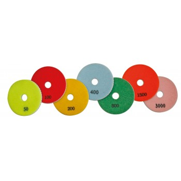 PRODIAXO Set of 3 wet diamond pads Ø 100 mm - grain 800 - PREMIUM Accessories for polisher