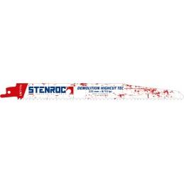 STENROC Reciprocating saw blade DEMOLITION (3pcs) - UM717BI, 225x22x1.57mm x 8-10tpi (EX LX20597-960R) Home