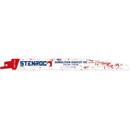 STENROC Reciprocating saw blade DEMOLITION (3pcs) - UM715BI, 225x22x1.57mm x 5-8tpi (EX LX20598-966R) Home