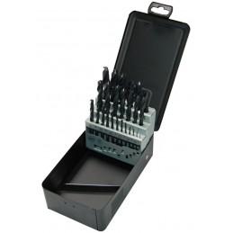 STENROC HSS DIN 338 - 25 pcs. 13x0.5 Metalbox set (EX LA KA010250) Drills Set