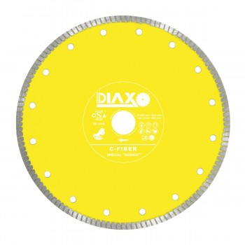 PRODIAXO Diamond disc C-FIBER-TURBO - 300 x 30.0 mm - Premium Construction Diamond dry-cutting saws