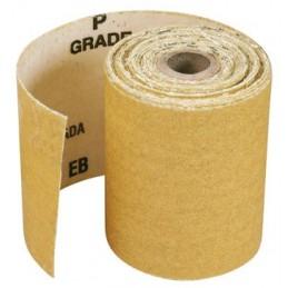 PRODIAXO Sanding paper mini roll P120 - 5 m x 115 mm - yellow Home
