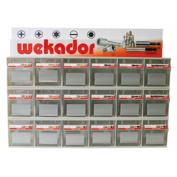 WEKADOR Empty display for different sets Home