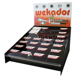 WEKADOR Assortment of bits - counter display - ZrN-Torsion - 175 pieces Home