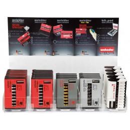 WEKADOR HANDY-BOX ZrN-Torsion - 9-part: TORX® + adapter Bits Sets