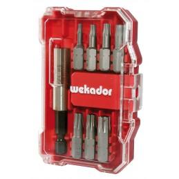 WEKADOR HANDY-BOX Professional - 8 pièces: TORX® + adaptateurAccueil