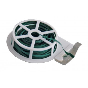 QZ Magic wire green plastic coated - 30 m Tools for fences