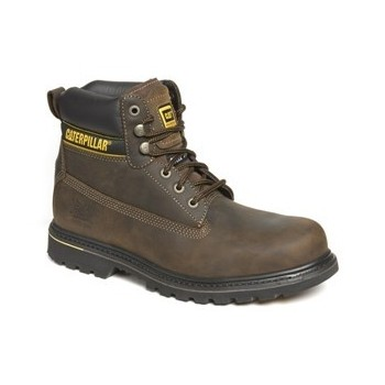 CATERPILLAR HOLTON S3 DARK BROWN Safety Shoes
