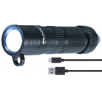 RUNPOTEC High performance rechargeable LED lamp - RTG Ø 6 mm - IP 67 - 320 lumens Cable Tractors