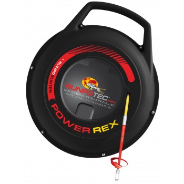 RUNPOTEC POWER REX 20 m - Ø 3 mm + 1 x Runpoglider Ø 7 mm Home
