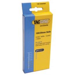 TACWISE Nails zinc plated 180-25 mm - per 1000 pcs Nailer accessories