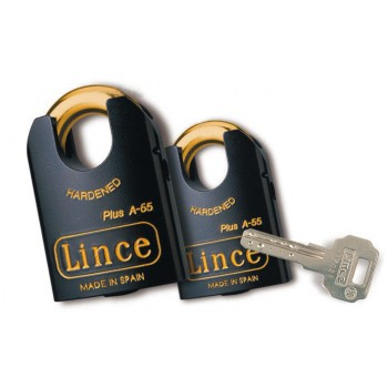 LINCE Padlock HIGH SECURITY PLUS A - EN-12320 - 55 mm Padlocks