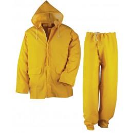 SECURX Ensemble de pluie - jaune - XLCombinaisons de protection