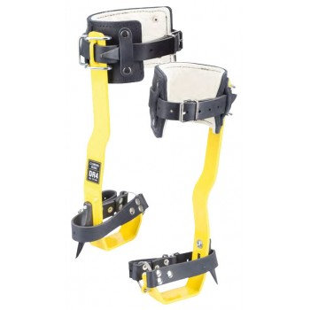 SECURX Climbing tracks in steel TreeUp Safety harness