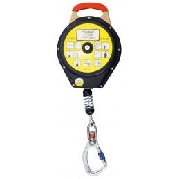 SECURX Secur-Stop TXB10 - 20 m - Ø4 mmEnrouleurs antichutes à rappel automatique