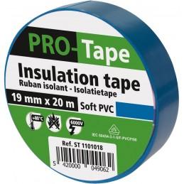 PROTAPE Ruban isolant 50 mm x 20m x 0,15mm, VDE - bleu clairAdhésifs et protection