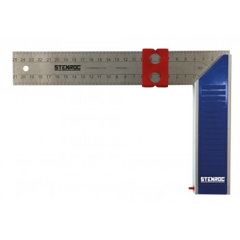 STENROC Joiner's shop hook stainless steel blade 350 mm Squares