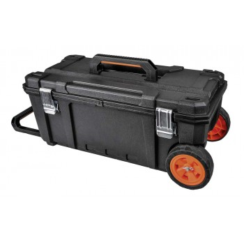 TOOD TOOD Space - 3 pcs modular construction site cases set 56x43x90cm with trolley Mobile work centers