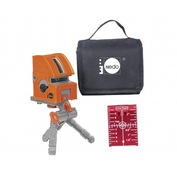NEDO X-Liner 5.2 - Automatic levelling - with carrying bag Lasers
