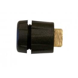 MESTO Precision flat jet nozzle + element + union nut, nozzle 80° - brass - with fine filter 100 M Watering accessories